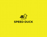 Speed Duck Logo Design