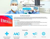 AAA-EM Web Site UI Design