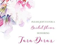 Tara's Bridal Shower Invitation