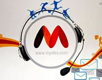myntra.com office branding