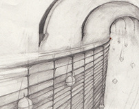 CONCEPT ART - TUNNEL FOR FILM 'NINE TENTHS'