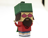 Papertoy - Babu, o Hippie