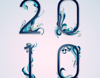 Typograhy work in 2010