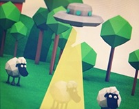 Low Poly Monster Tests