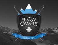 Snow Campus Logo Design