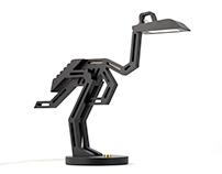 Dodo. A Dead Bird Desk Lamp