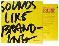 """Sounds Like Branding 7"""" packaging design"""