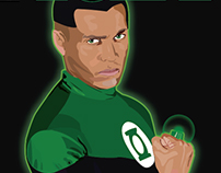 Green Lantern Corps cover (Fan project)