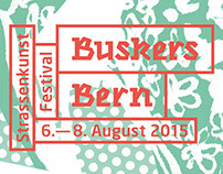 Buskers Bern — Corporate Design