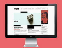 Maribor Art Gallery Website