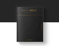 Black Apple #6 — editorial design