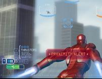 Iron Man - Wii / PSP / PS2 User Interface