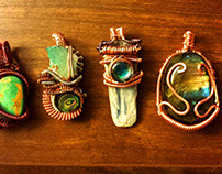 Wire Wrapped Jewelery