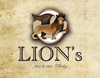LION'S Fine and Rare Whisky