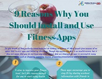 9 Reasons Why You Should Install and Use Fitness Apps