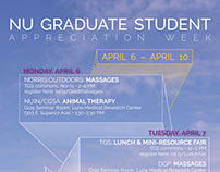 NU Graduate Student Appreciation Week