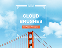 15 High Quality Cloud Brushes for Photoshop
