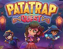 Patatrap Quest - Board Game design