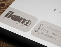 Business Card Ikono Diseño