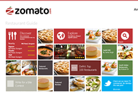 Zomato Windows 8 App