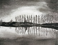 Of reflections and a charcoal.