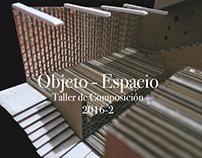 Objeto - Espacio Taller de Composición II
