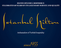 Hilton Istanbul 60th Year Visual Elemets