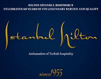 Hilton Istanbul 60th Year Visual Elemets