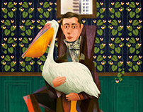 Man with Pelican