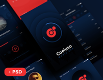 Coeluso Mobile and Landing Page