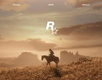 Rockstar Games – Website redesign