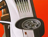 White Ferrari || Frank Ocean atl. Cover