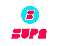 SUPA Branding by Hello Velocity