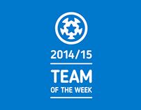 UCL 2014/15 TEAMS OF THE WEEK