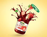Keshtchin food ads Design