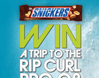 Snickers/SportsTonight/Ripcurl Promotion 2008
