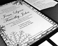 Jena and Tim's Wedding Invitations