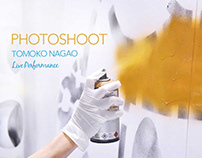 Tomoko Nagao Live Performance Photoshoot