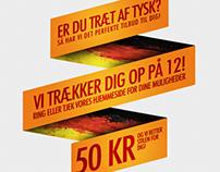Sproghjælperen - Poster and logo