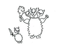 Illustrations for Pegasus magazine