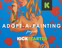 Kickstarter Adopt-a-Painting Project