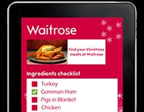 Waitrose Christmas Campaign