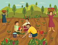 Pertanian Berkelanjutan dalam Proyek Kemakmuran Hijau