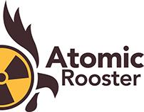 Atomic Rooster Logo Design