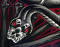 Inflames Snake