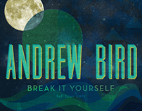 Andrew Bird Tour Poster
