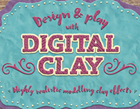 Digital Clay- Layer Styles & More