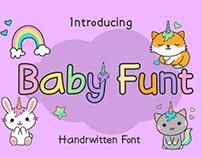 Baby Funt Kids Font