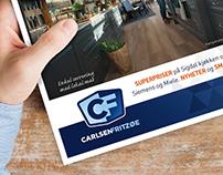 CARLSEN FRITZØE – kampanjer og profilmateriell