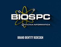 BIOSPC - Officina Informatica / brand identity redesign